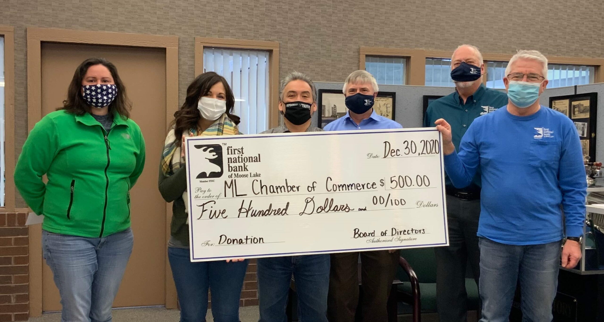 BOD donation to MLACC